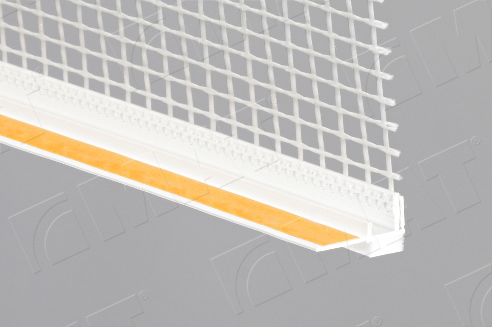 PVC profile for connecting to window 9 with mesh