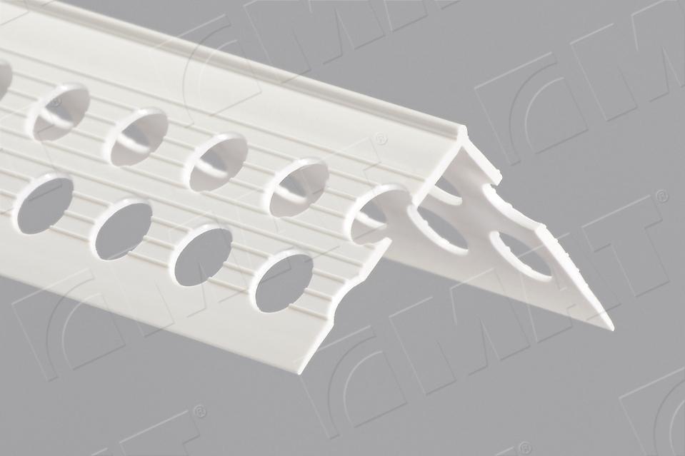 Drywall Edge Profiles : Plasterboard edging bead with dilatation tape j