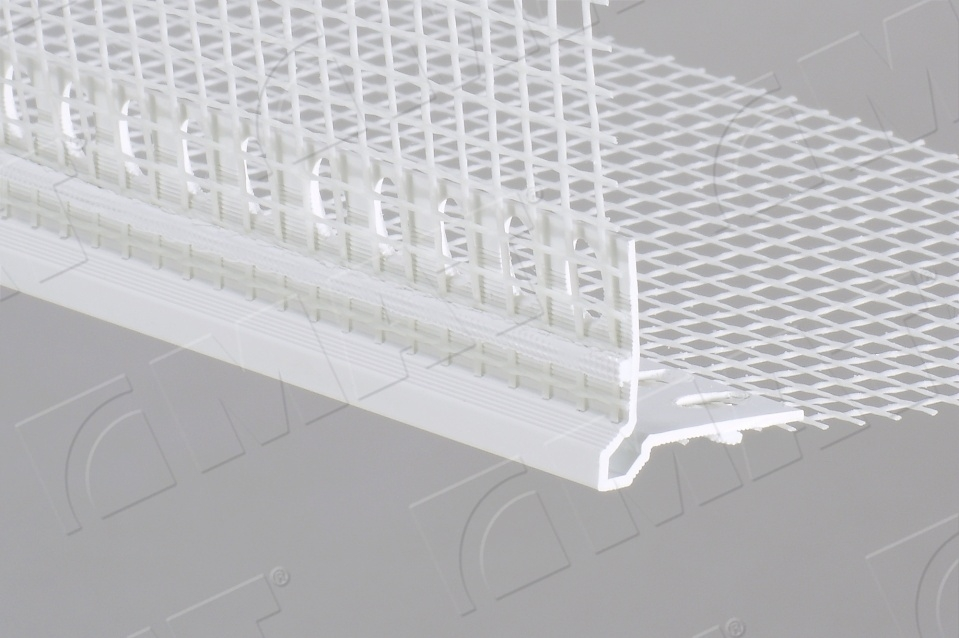 CORNER profile with a glass fibre mesh