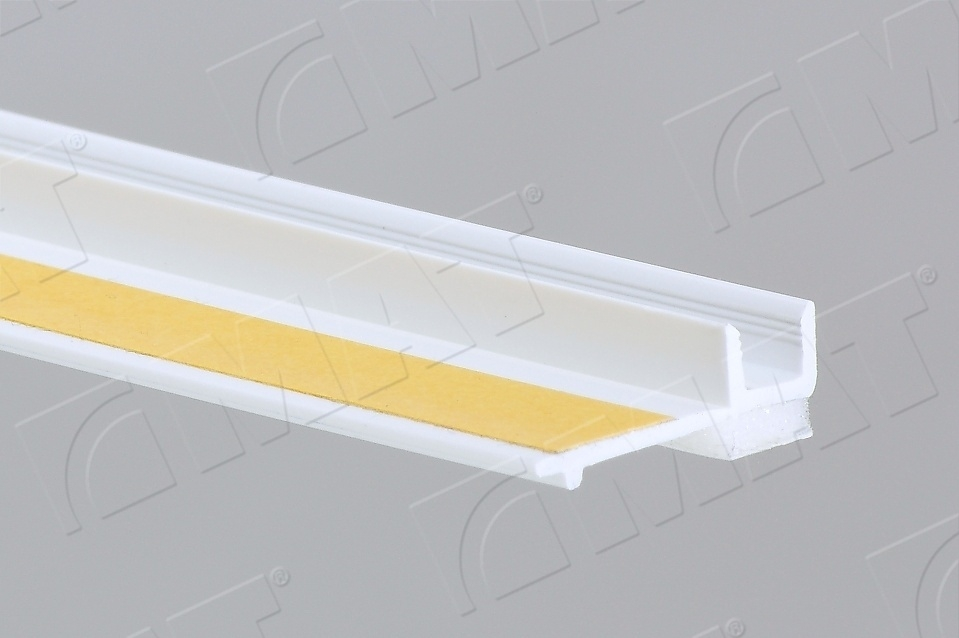 PVC profile for connecting to window
